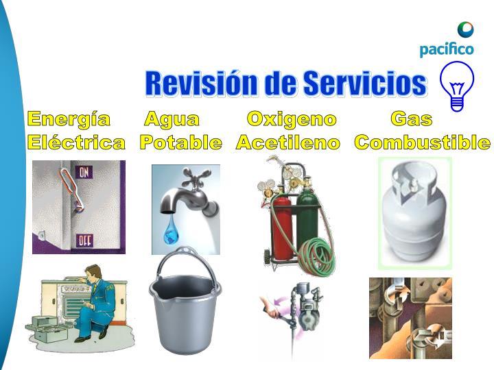 Revisión de Servicios