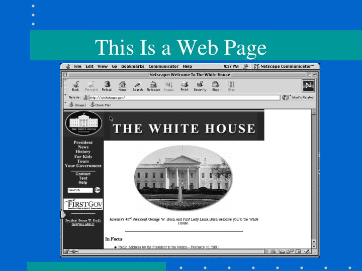 This Is a Web Page