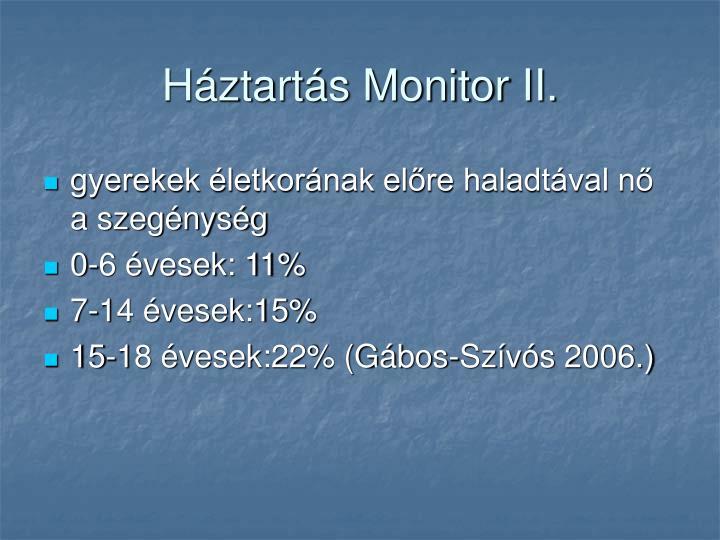 Háztartás Monitor II.