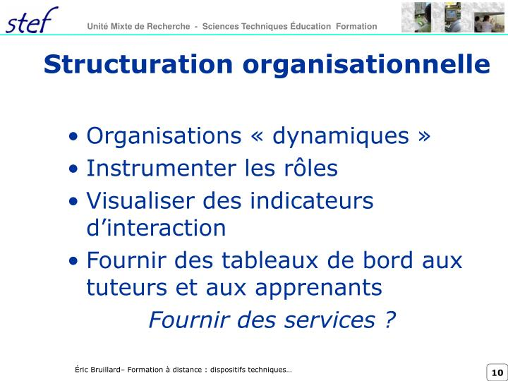 Structuration organisationnelle