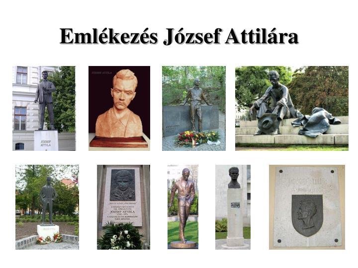Emlékezés József Attilára