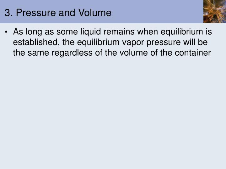 3. Pressure and Volume