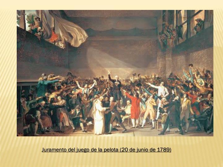 Juramento del juego de la pelota (20 de junio de 1789)