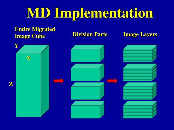 MD Implementation