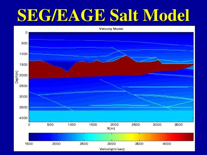 SEG/EAGE Salt Model