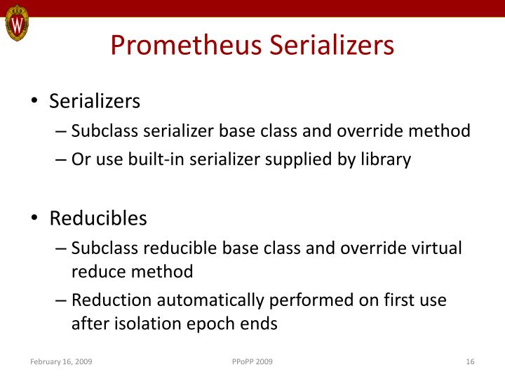 Prometheus Serializers