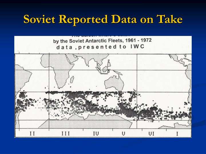 Soviet Reported Data on Take
