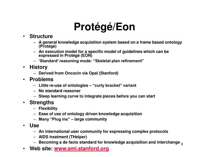 Protégé/Eon