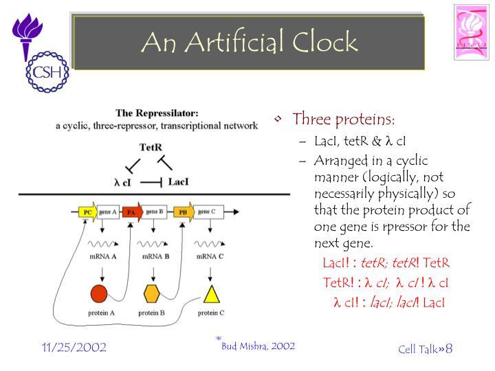 An Artificial Clock