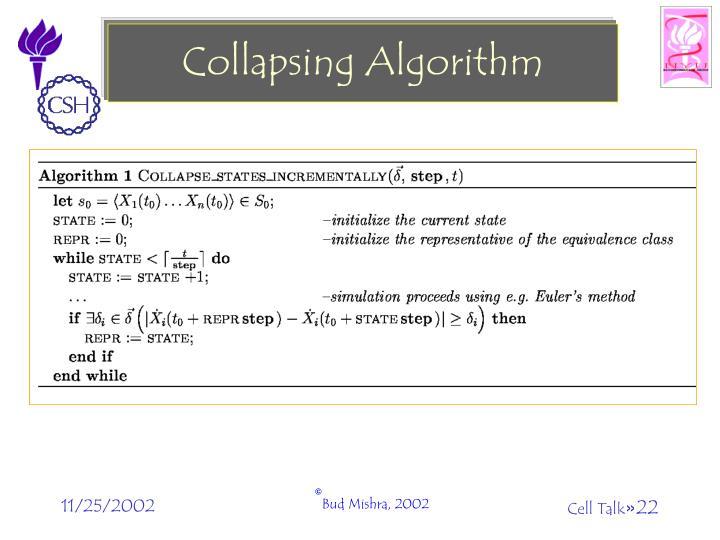 Collapsing Algorithm