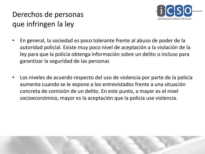 Derechos de personas