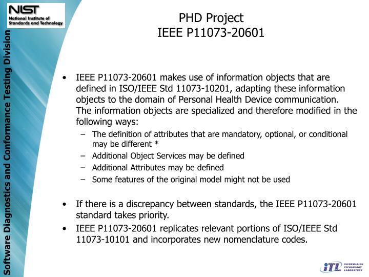 PHD Project