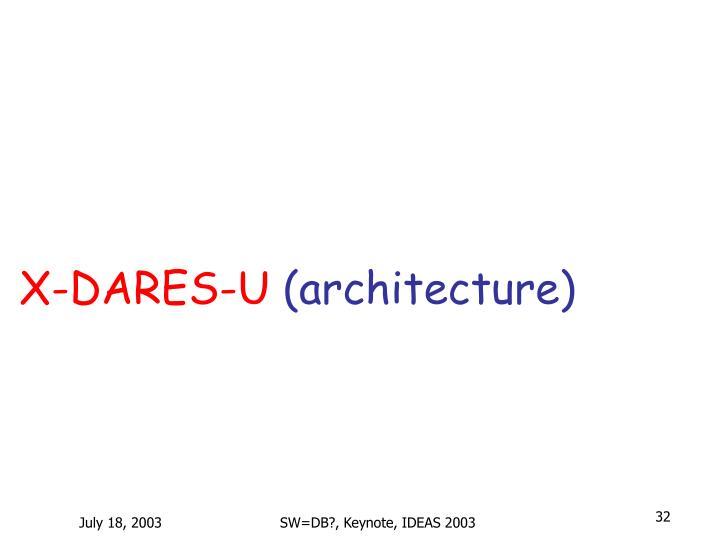 X-DARES-U