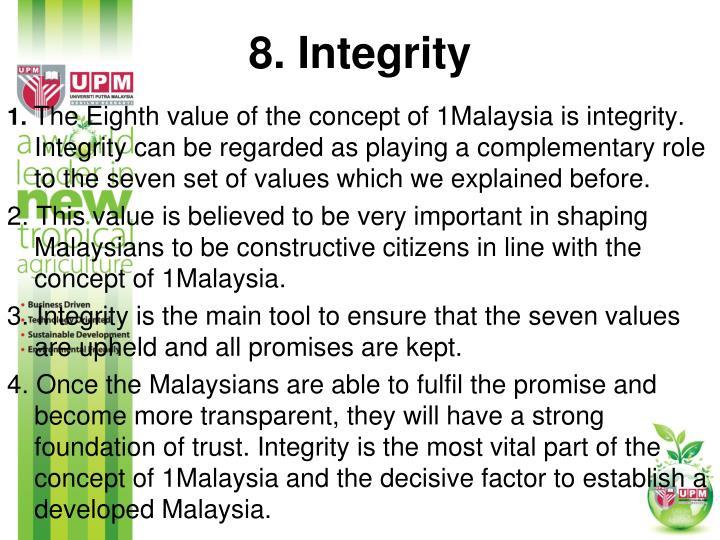 8. Integrity