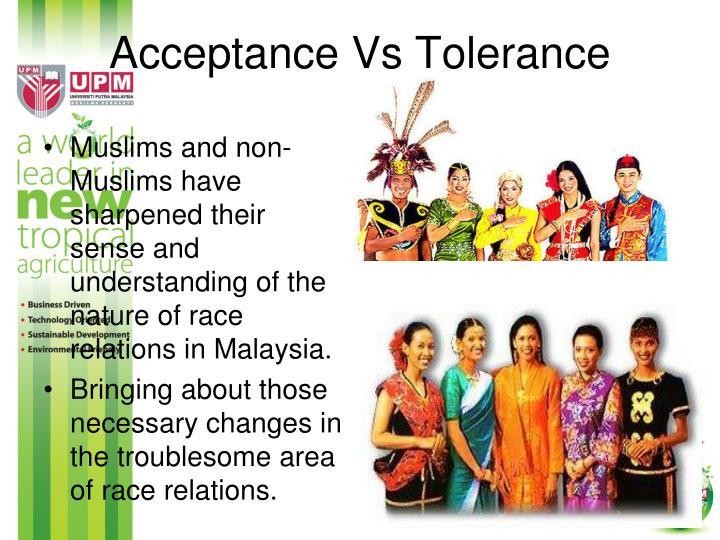 Acceptance Vs Tolerance