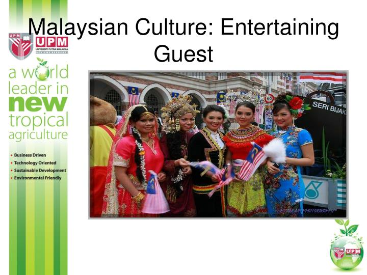 Malaysian Culture: Entertaining Guest