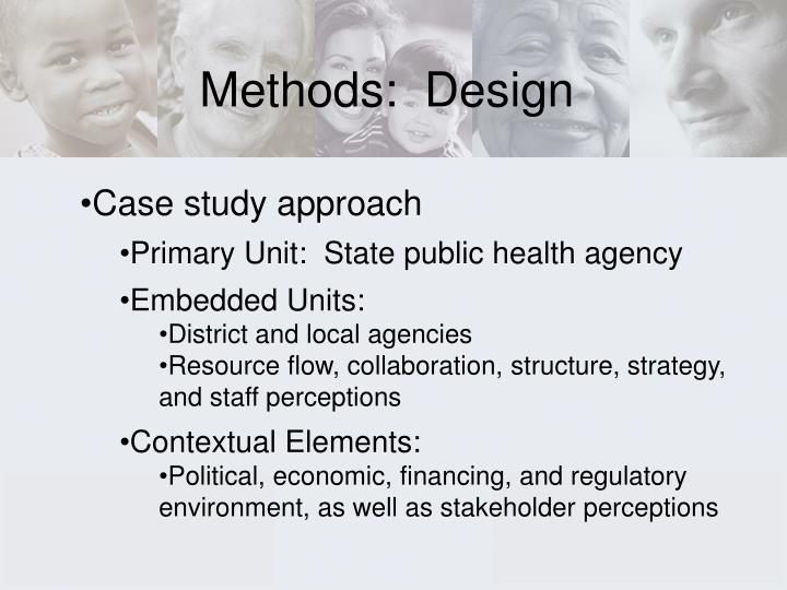 Methods:  Design
