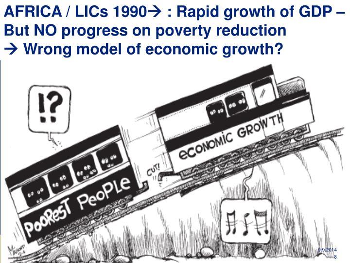 AFRICA / LICs 1990