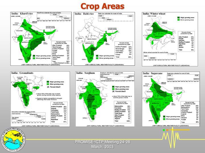 Crop Areas