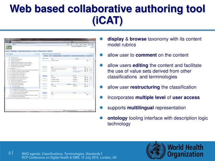 Web based collaborative authoring tool (iCAT)