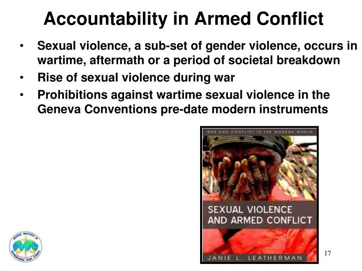 Accountability in Armed Conflict