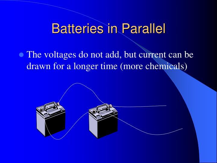 Batteries in Parallel