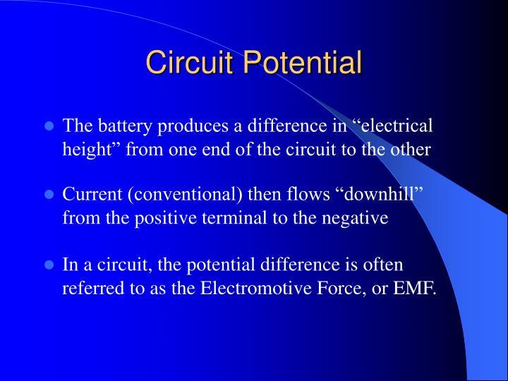Circuit Potential