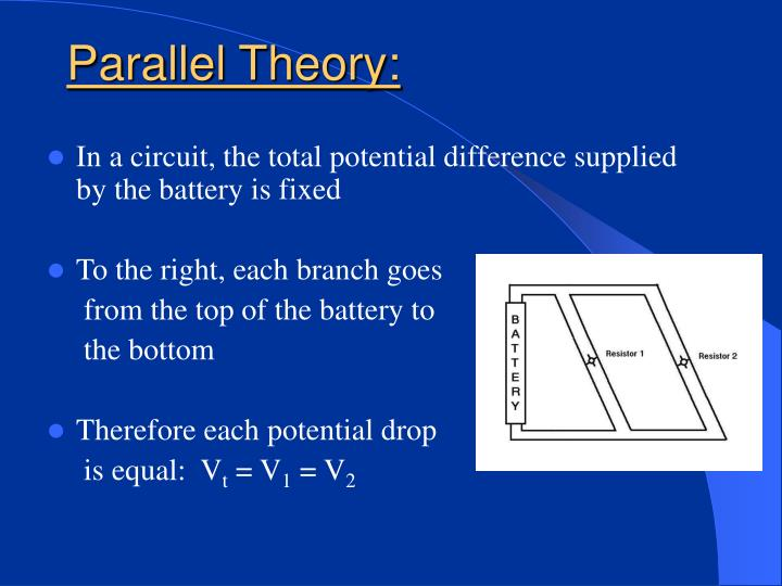 Parallel Theory:
