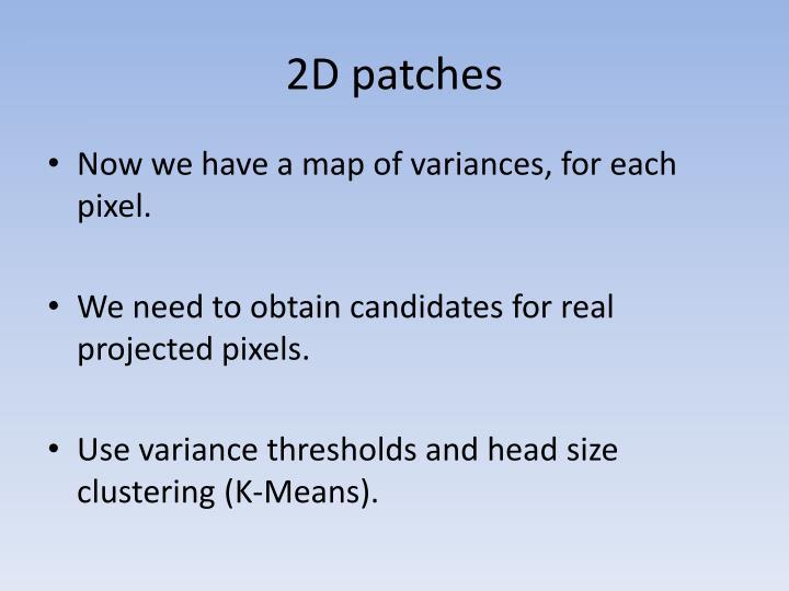2D patches