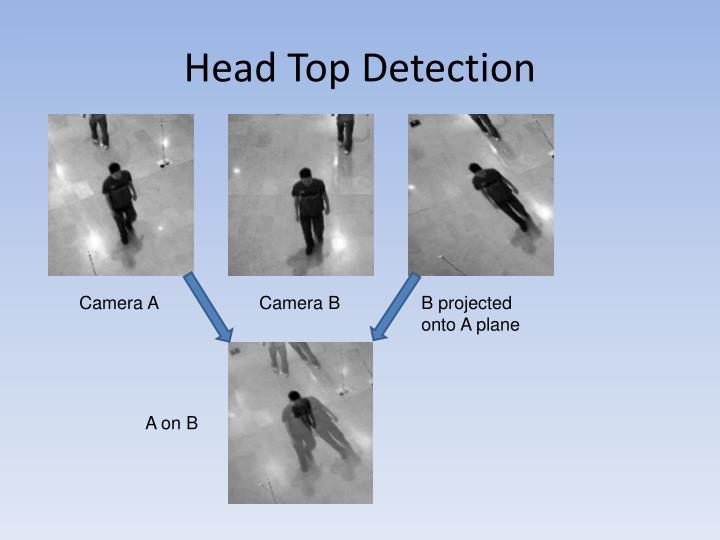Head Top Detection