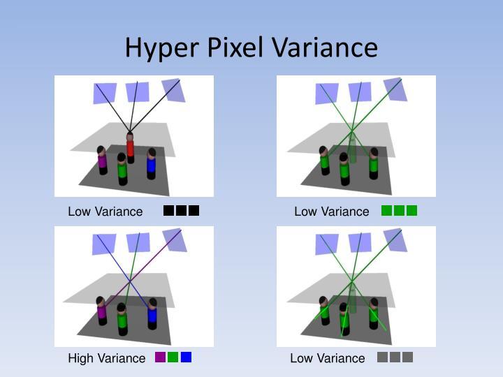 Hyper Pixel Variance