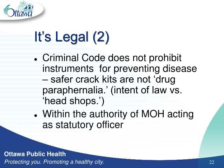 It's Legal (2)