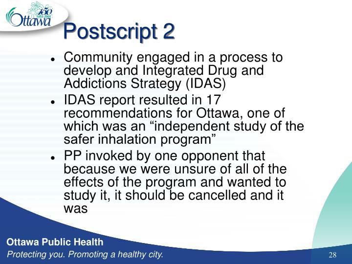 Postscript 2