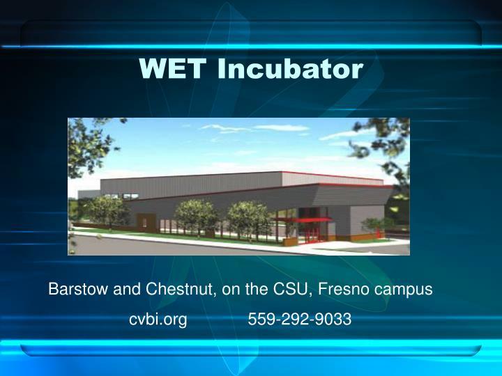 WET Incubator