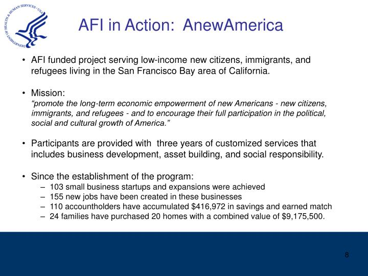 AFI in Action:  AnewAmerica