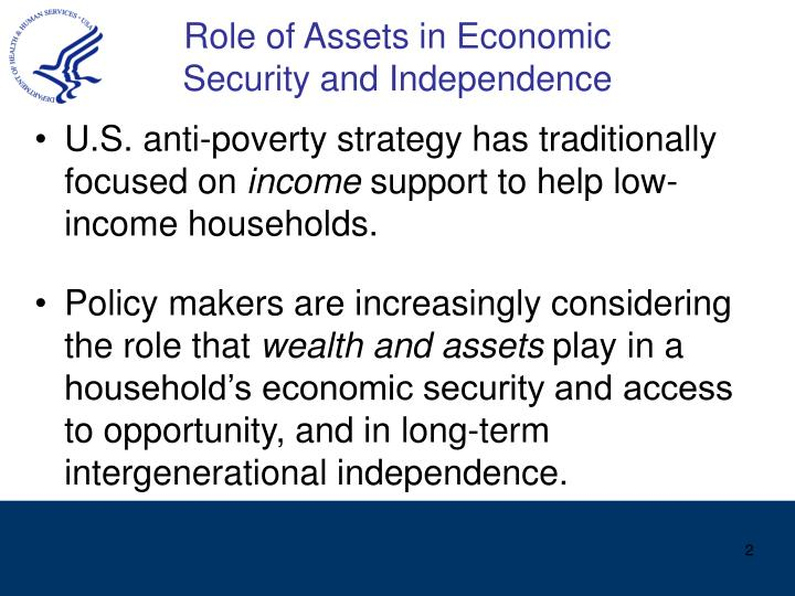 Role of Assets in Economic