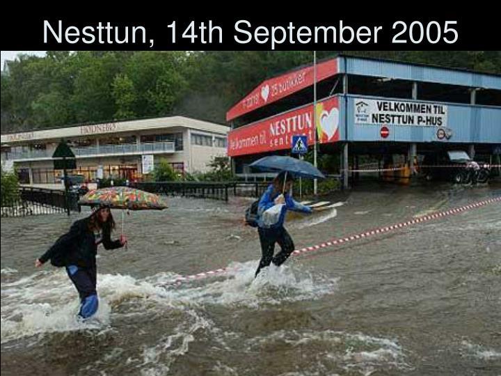 Nesttun, 14th September 2005