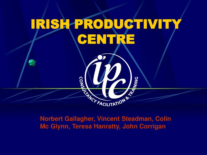 Irish productivity centre