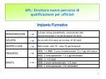 apl struttura nuovo percorso di qualificazione per ufficiali8