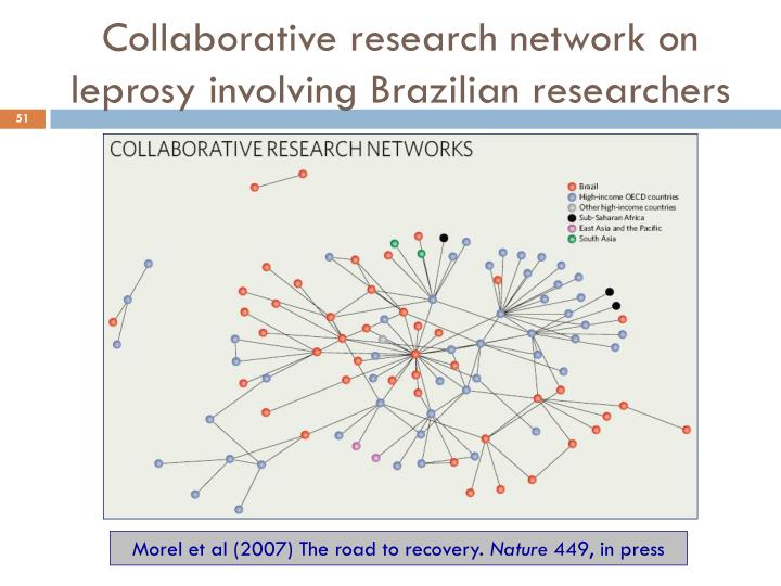 Collaborative research network on leprosy involving Brazilian researchers