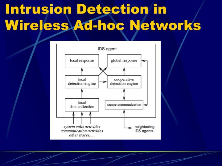 Intrusion Detection in Wireless Ad-hoc Networks