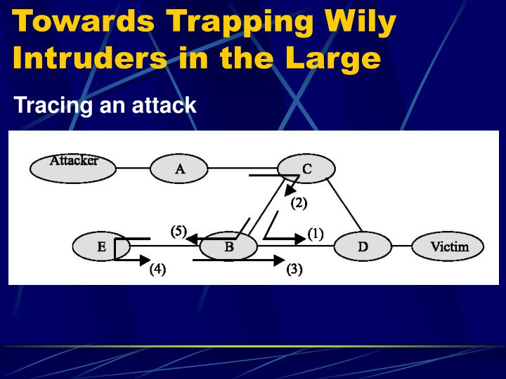 Towards Trapping Wily Intruders in the Large