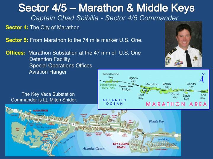 Sector 4/5 – Marathon & Middle Keys