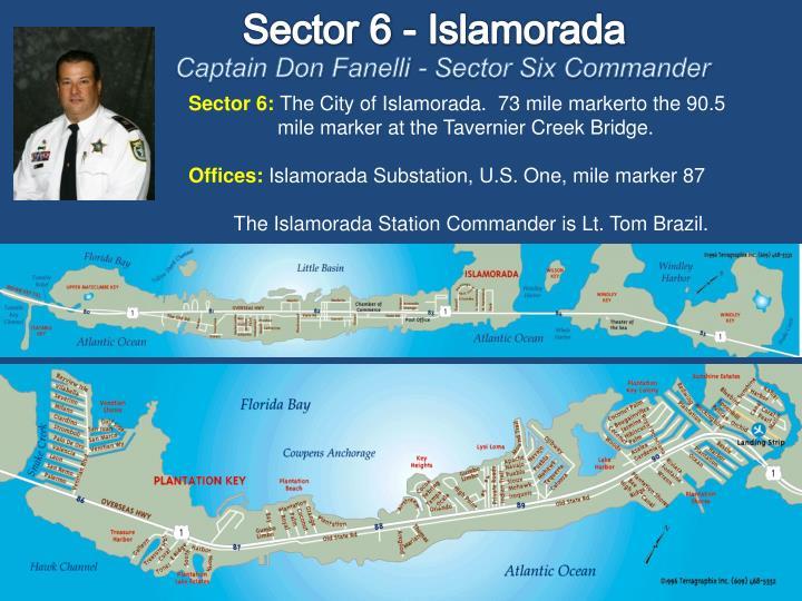 Sector 6 - Islamorada