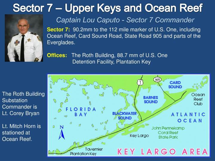 Sector 7 – Upper Keys and Ocean Reef