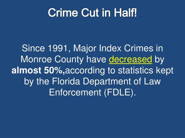 Crime Cut in Half!