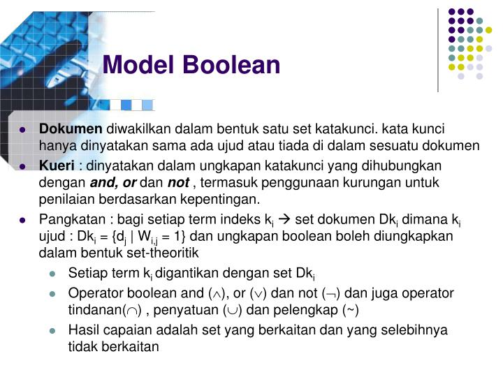 Model Boolean