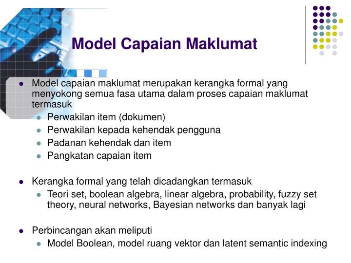 Model Capaian Maklumat