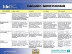 evaluaci n matriz individual