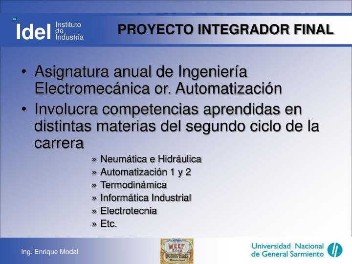 Proyecto integrador final